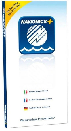 Navionics+ Download-Kartenmodul