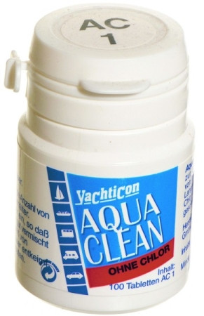 Yachticon Aqua Clean AC 1 - ohne Chlor - 100 Tabletten