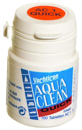 Yachticon Aqua Clean AC 1 -quick- ohne Chlor - 100 Tabletten