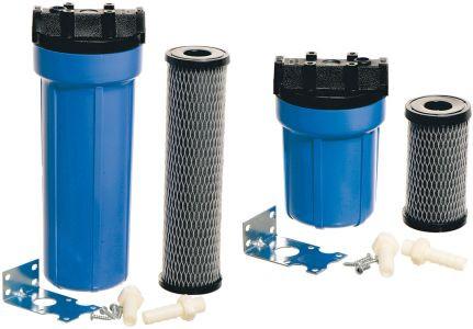Wasserfilterset mit Aktivkohle Zellulosefilter
