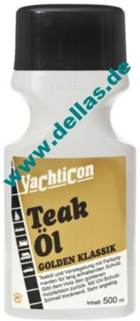 Yachticon Teak Öl Golden Klassik 500 ml