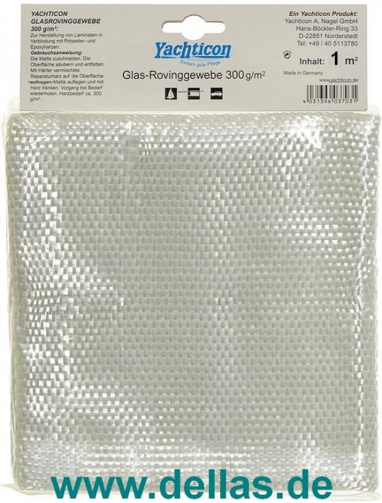 Glasrovinggewebe 300 g versch. Größen