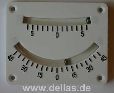 Plastic Clinometer Krängungsmesser