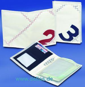 Segelstoff Sea Licence Brieftasche