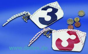 Segelstoff Sea Key Wallet Portemonnaie