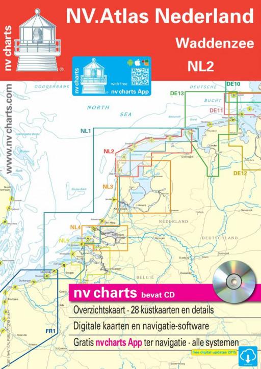 Sportbootkartensatz NV.Atlas Nederland NL2