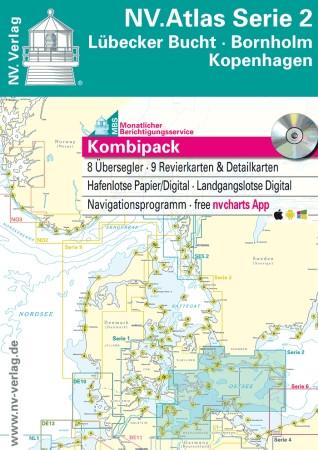 Sportschifffahrtskarten NV. Serie 2, Lübecker Bucht - Bornholm - Atlas