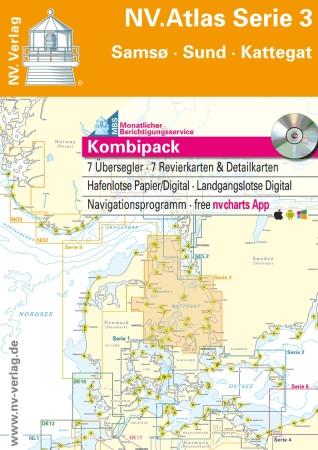 Sportschifffahrtskarten Kieler Bucht und Rund Fünen - Atlas