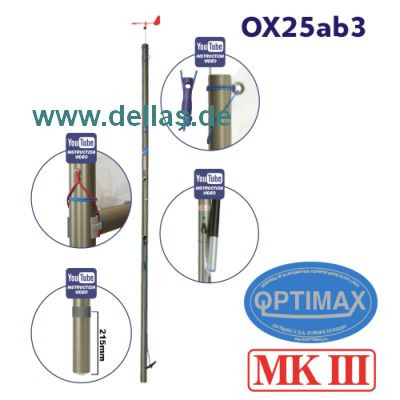 OPTIMAX MK3 Racing Mast komplett