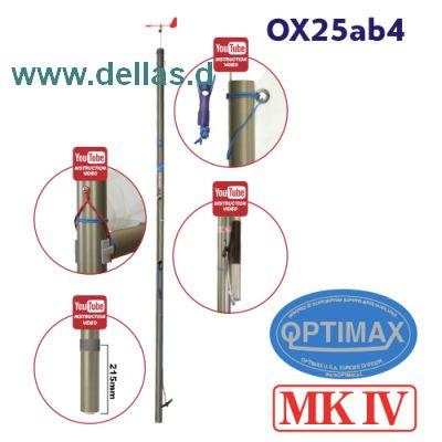 OPTIMAX MK4 Racing Mast komplett