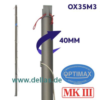 OPTIMAX MK3 Baum (40 mm) komplett