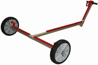 OPTIPARTS Slipwagen, große, durchschlagsichere Räder