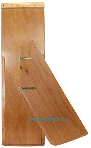 OPTIPARTS Schul-Set Holz - Schwert und Ruderblatt (ohne Ruderbeschläge)