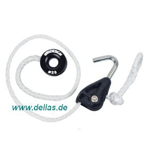 Spritfall-System mit reibungsarmen Ring