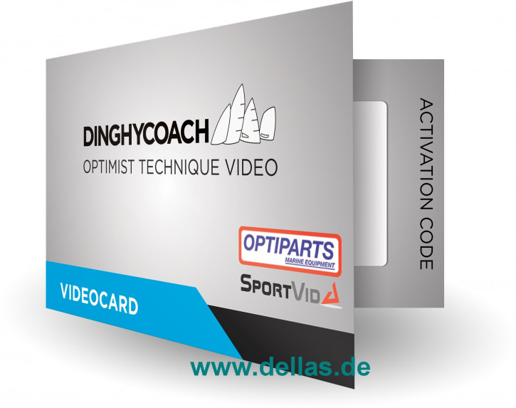 Zugangskarte Dinghycoach Optimist Technique Video