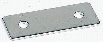 Montageplatte Edelstahl