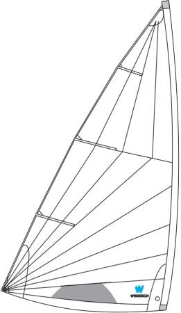 Segel für Laser Standard MK2 Radialschnitt WinDesign REPLICA