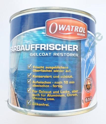 OWATROL MARINE GELCOAT RESTORER / MARINE POLYTROL 0,5 l