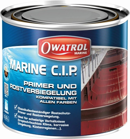 OWATROL Marine C.I.P. Rostprimer 0,75 Liter