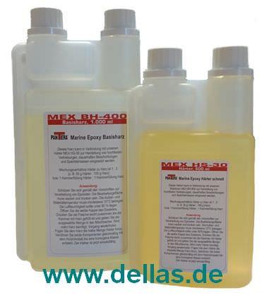 Epoxy Basisharz MEX BH-400 + Härter BS-30 1500 ml