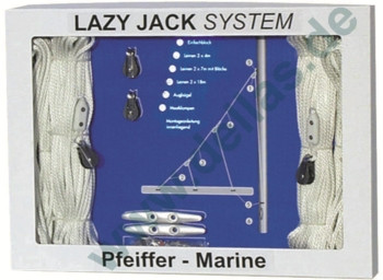 Lazy-Jack-Systeme zur Selbstmontage für Schiffe bis zu 30 bzw. 40 Fuß