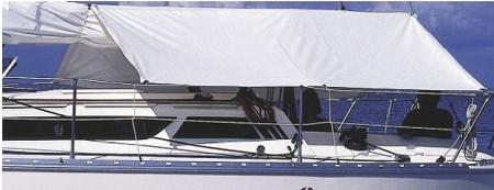 Plastimo Sonnensegel Weiß PVC