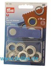PRYM® SB-Packungen - Ösen mit Scheiben - 11 mm