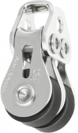 Doppel-Block 25 mm, kugelgelagert