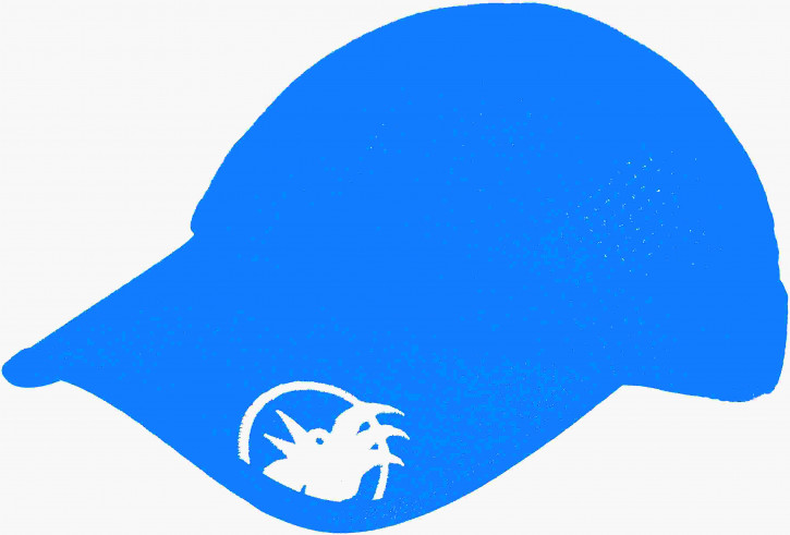 Rooster Aero Mesh Cap Signal Blue