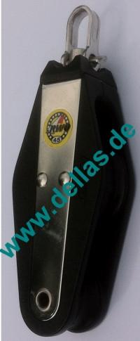 45 mm Kugellager Violinblock, Wirbel