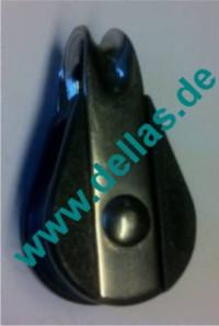 19 mm NOVA Gleitlagerblock , einfach mit Bügel