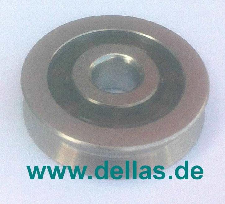 Seilrolle 25x6,6 mm für 3 mm Draht