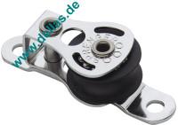 Micro XS Block 1 Rolle, Liegeblock mit Lasche