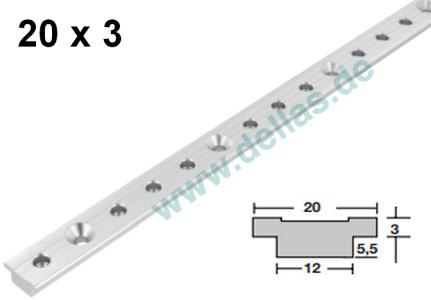 SPRENGER Genuaschiene 30 - 200 cm