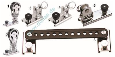 SPRENGER Rutscher für 20 mm T-Profil-Schiene versch. Modelle