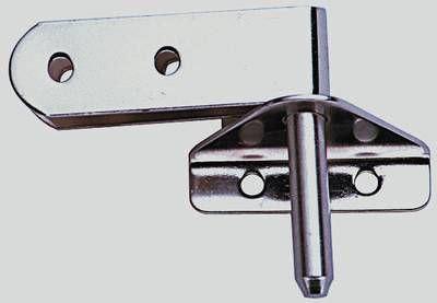 Ruderbeschlagsset - Paar - (2 Ruder + 2 Spiegelbeschläge)