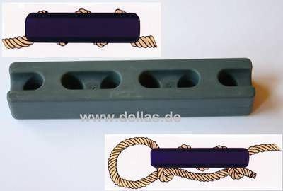 Ruckdämpfer für 10 bis 24 mm Tau