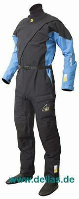 Sandiline Trockenanzug PRO II Front Zip Drysuit Blau
