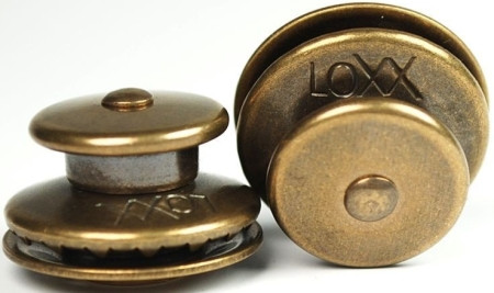 LOXX® Oberteil großer Kopf, Messing - Altmessing