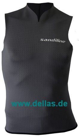 Neues Shirt von Sandiline, ohne Ärmel für bessere Bewegung