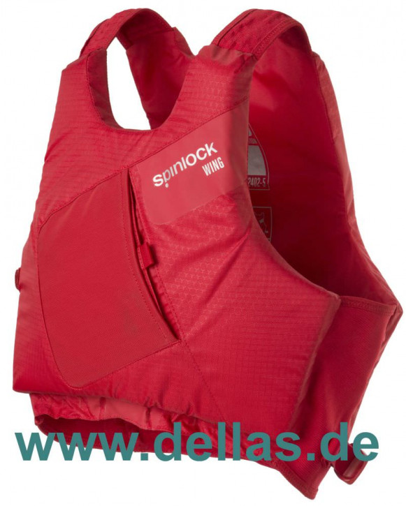 Spinlock PFD Wing Regattaschwimmweste Rot