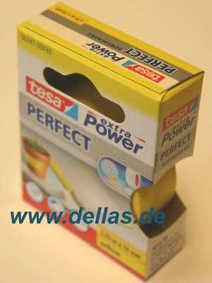 Tesa Gewebeband Gelb 19mm