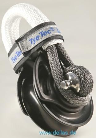 TyeTec® Kugellager Snatch Block – CODE BLACK
