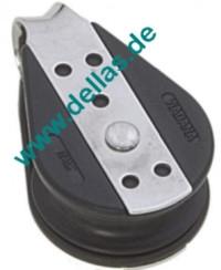 Einzelblock 10mm Schot 38mm Scheibe, Kugellager