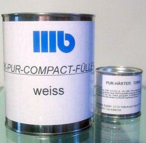 Wohlert 2K-Pur-Compact-Füller Weiß