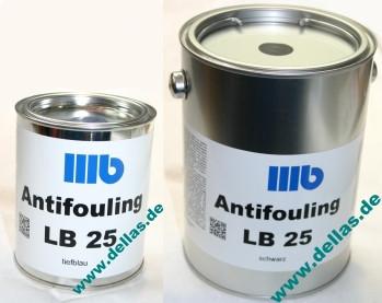 Wohlert LB25 Antifouling 750 ml oder 2,5 Liter