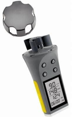 Skymate Skywatch eole1 - Windmesser - Handwindmesser mit 3D-Rotor