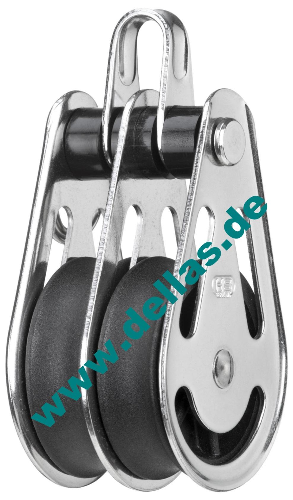 2-Scheibige Blöcke mit Bügel//Gleitlager