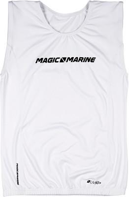 Magic Marine Brand Overtop ohne Ärmel Weiß
