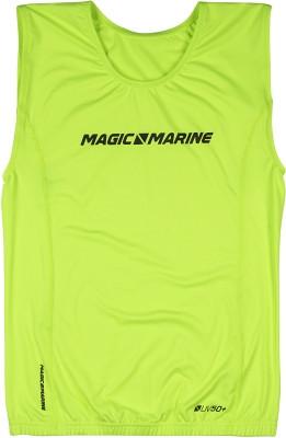 Magic Marine Brand Overtop ohne Ärmel Gelb